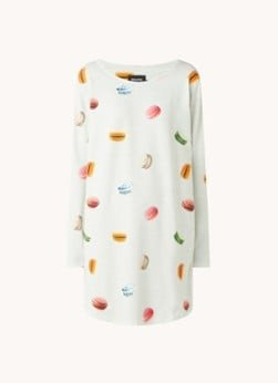 Snurk Snurk Macarons nachthemd met print