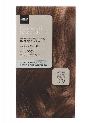 HEMA Haarkleuring Licht Bruin 7/0