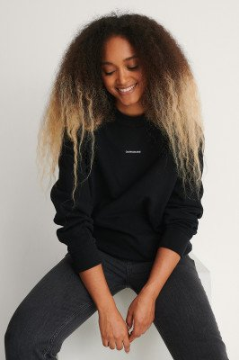 Calvin Klein Calvin Klein Oversized Trui - Black