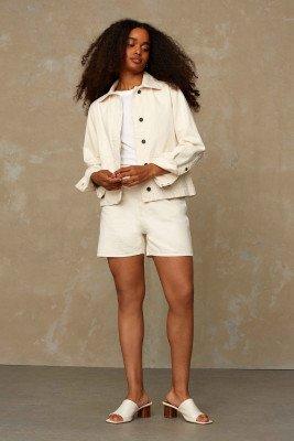 Kings of indigo Kings of Indigo - ALICE SHORT shorts Female - Beige