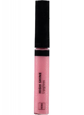 HEMA High Shine Lipgloss (roze)