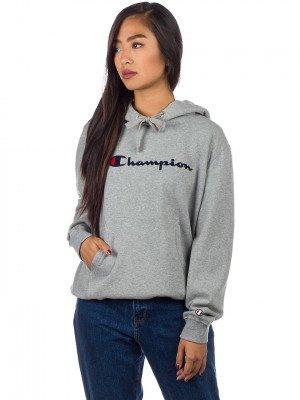 Champion Champion American Logo Hoodie grijs