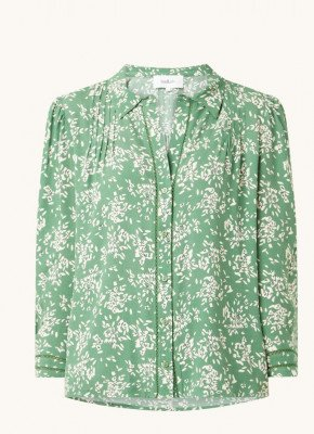 BAenSH ba&sh Venu blouse met plooien en bloemenprint
