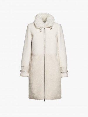 Beaumont Beaumont Fur wool coat