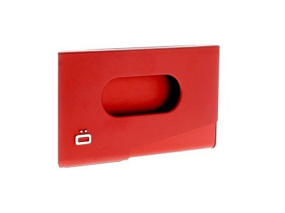 Ogon Designs Ogon Business Cardholder One Touch Red