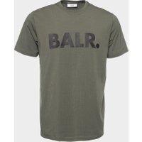 BALR. Straight Brand T-shirt Men Green