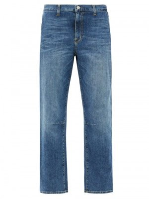 Nili Lotan - Carpenter Wide-leg Jeans - Womens - Denim