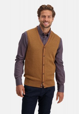 State of Art State of Art Knitted Gilet Plain