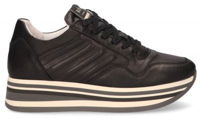 VIA VAI VIA VAI Mila Bow Zwart Damessneakers