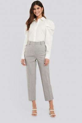 NA-KD Classic NA-KD Classic Tailored Fitted Suit Pants - Grey