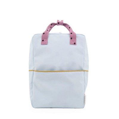 Sticky Lemon Sticky Lemon Large Backpack Freckles Sky Blue + Pirate Purple + Caramel Fudge