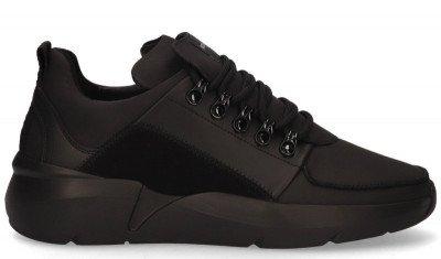 Nubikk Nubikk Roque Royal Zwart/Zwart Herensneakers