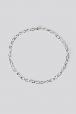 NA-KD Accessories NA-KD Accessories Sterling Silver Thin Chain Necklace - Silver