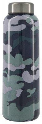 HEMA HEMA Isoleerfles 450ml Rvs Dubbelwandig Camouflage
