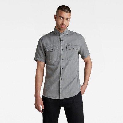 G-Star RAW Marine Service Slim Shirt - Grijs - Heren