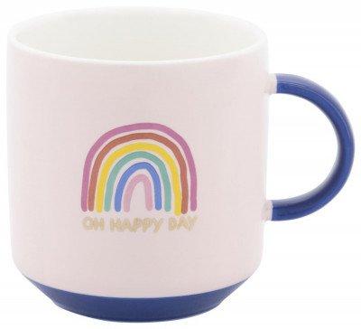 HEMA HEMA Beker Ø8cm 250ml Rainbow