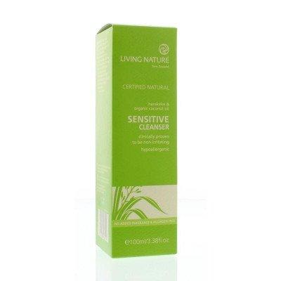 Living Nature Reinigingscreme voor de gevoelige huid (parfumvrij)- 100 ml Living Nature