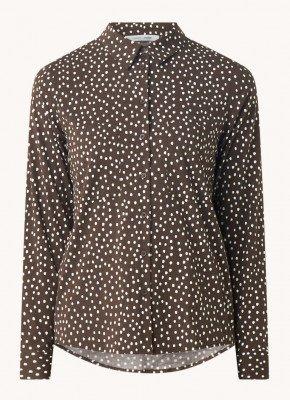 Samsøe en Samsøe Samsøe & Samsøe Milly blouse met bloemenprint