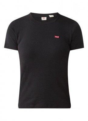 Levi's Levi's Rib Baby T-shirt met logoborduring