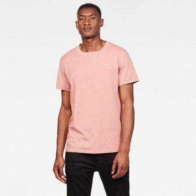 G-Star RAW Earth Ronde Hals T-Shirt - Roze - Heren