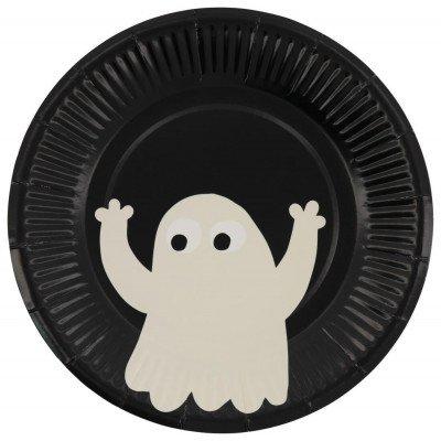 HEMA HEMA Gebaksbordjes Ø17.5cm Karton Halloween - 8 Stuks