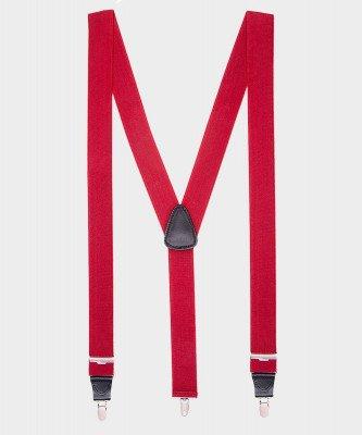 Michaelis Michaelis heren bretels rood
