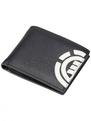 Element Element Daily Wallet zwart