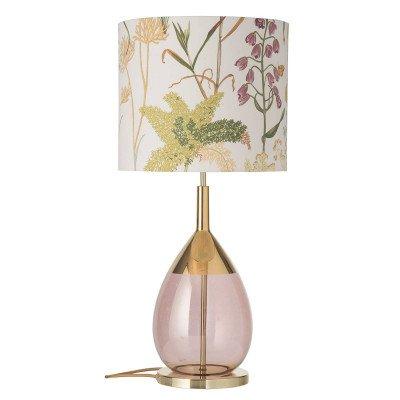Ebb en Flow EBB & FLOW Lute tafellamp met kap Botanical