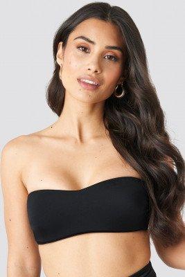 Trendyol Trendyol Strapless Bikini Top - Black