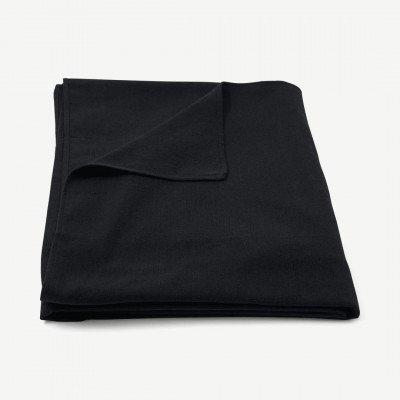 MADE.COM Original Home tafelkleed van 100% gerecycled katoen, 300 x 165 cm, zwart