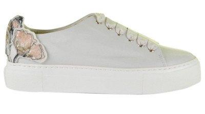 AGL AGL D925090 Wit Damessneakers