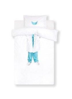 Snurk Snurk Doctor kinderdekbedovertrekset van biologisch katoen perkal 160TC - inclusief kussensloop