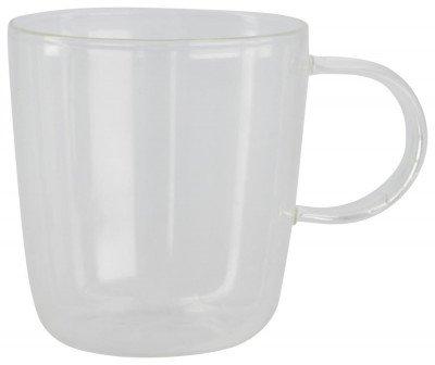 HEMA Koffiemok Chicago 130 Ml Glas (transparant)