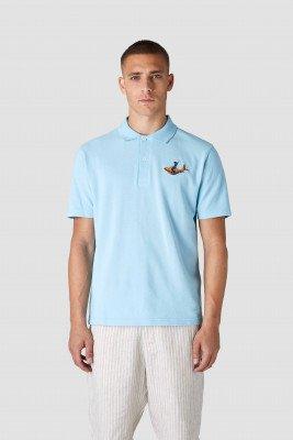 Kings of indigo Kings of Indigo - CHOKEI t-shirt short sleeve Male - Light Blue