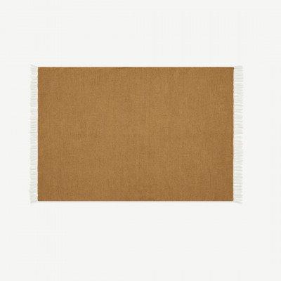 MADE.COM Ofrah binnen/buiten vloerkleed, groot, 160 x 230 cm, okergeel