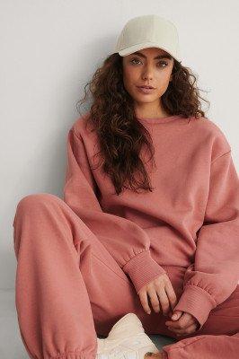 NA-KD Reborn NA-KD Reborn Organisch Sweater - Pink