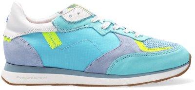 Floris van Bommel Groene Floris Van Bommel Lage Sneakers 85326