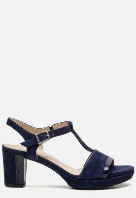 Gabor Gabor Comfort sandalen met hak blauw