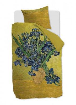 Beddinghouse Beddinghouse Irises katoensatijn dekbedovertrekset 220TC - inclusief kussenslopen