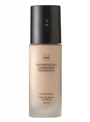 HEMA Skin Protecting Illuminating Foundation Rose 02 (bruin)