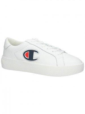 Champion Champion Era Leather Sneakers wit