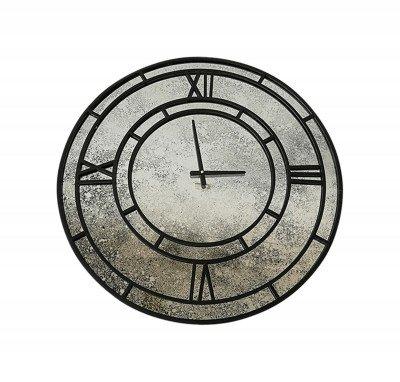 PTMD PTMD Klok 'Djay', Metaal, 70cm, kleur Zwart