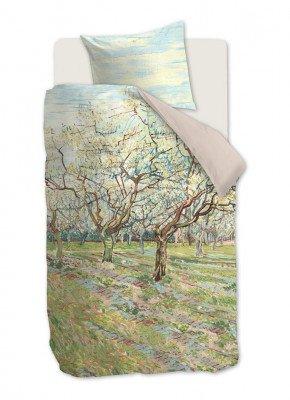 Beddinghouse Beddinghouse Orchard katoensatijn dekbedovertrekset 220TC - inclusief kussenslopen