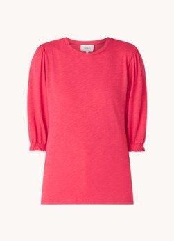 BAenSH ba&sh Vasco T-shirt van biologisch katoen met pofmouw