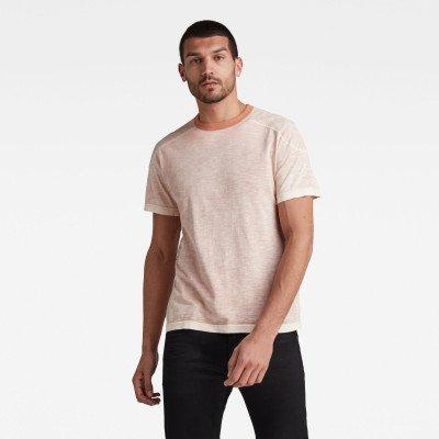 G-Star RAW Rugby Spray Loose T-Shirt - Roze - Heren