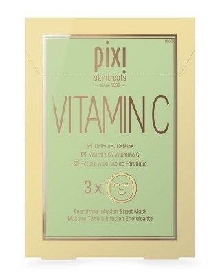 Pixi Pixi - Vitamin-C Energizing Infusion Sheet Mask - 3 x 23 gr