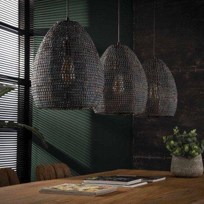 LifestyleFurn Hanglamp 'America' 3-lamps