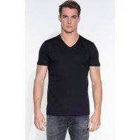 Slater Basic Heren T-shirt KM 2-pack