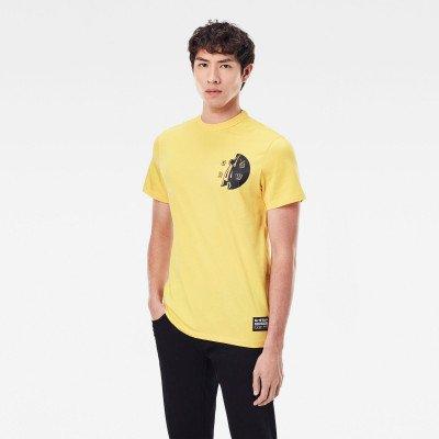 G-Star RAW GS Raw Hammer T-Shirt - Geel - Heren