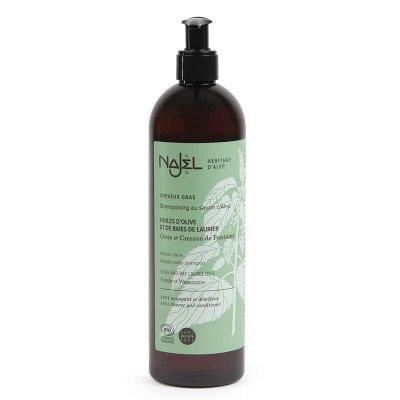 Najel Biologische Aleppo 2-in-1 Shampoo Vet haar (sulfaatvrij) - 500 ml Najel